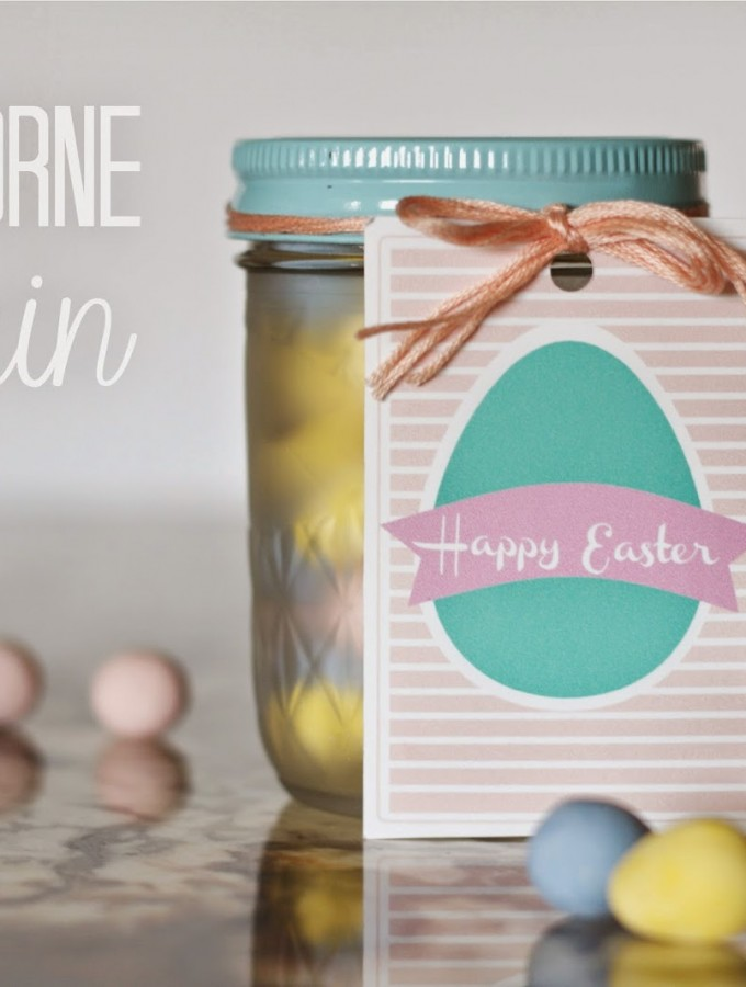 Free Printable- Easter Egg Gift Tag