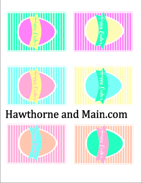 Free printable easter gift tag hawthorne and main check out this cute free printable easter gift tag what an easy way to customize negle Images