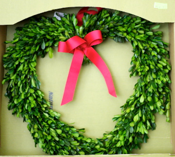 Boxwood Wreath (Refurbished)
