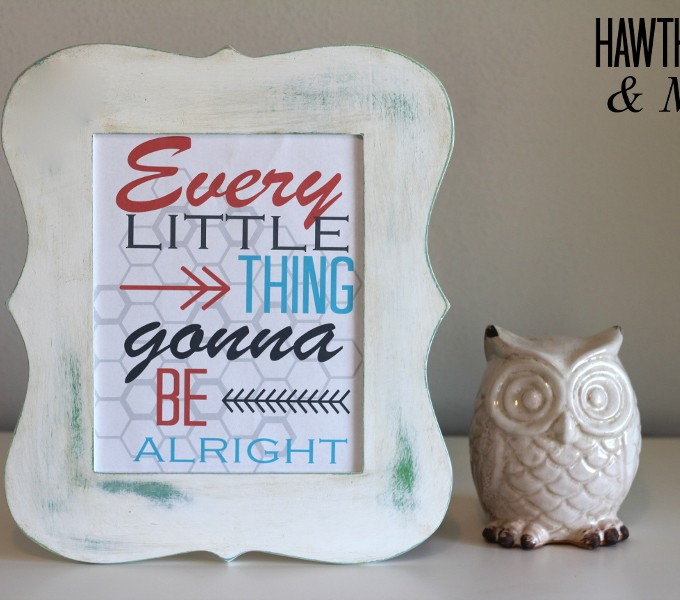 Free Printable Wednesday