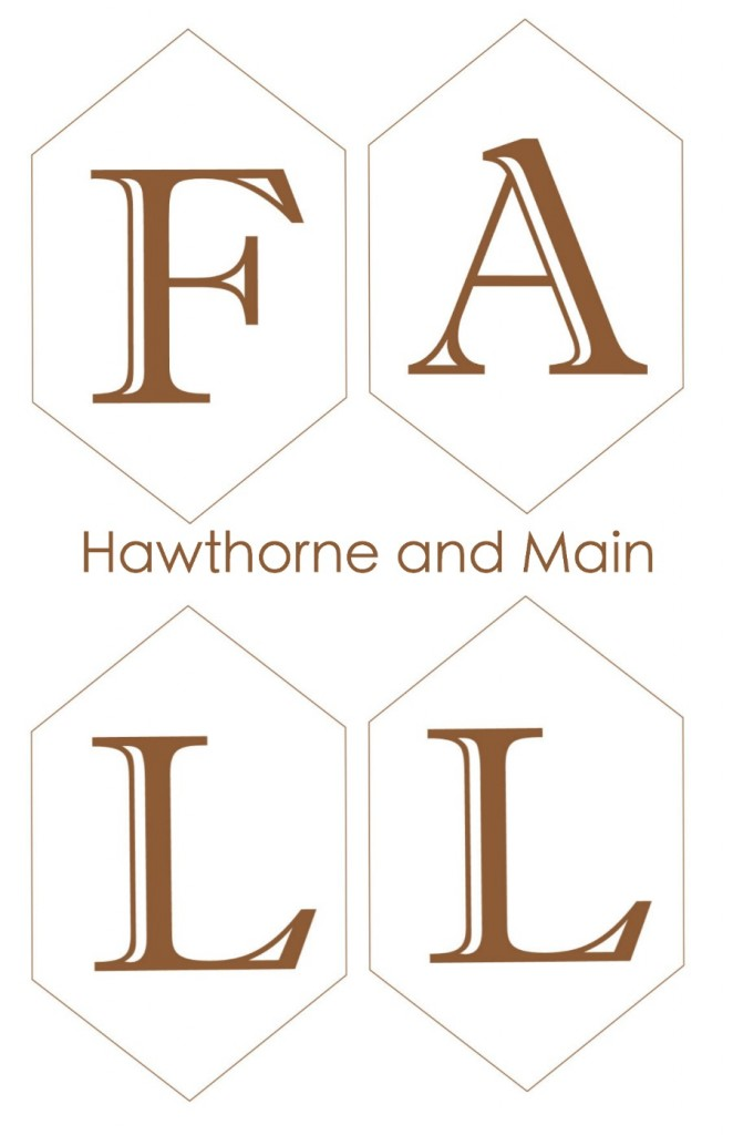 picture relating to Fall Banner Printable referred to as Slide Banner- Free of charge Printable HAWTHORNE AND Principal
