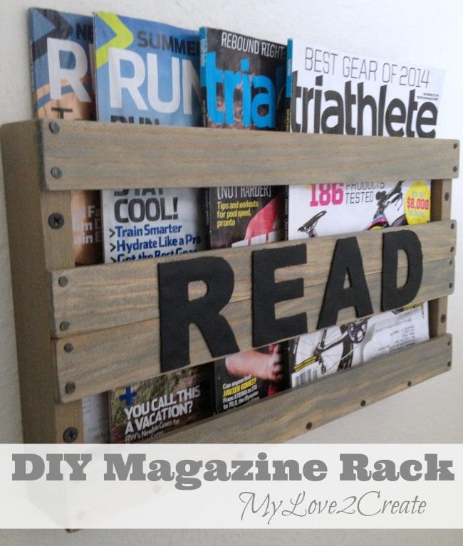 MyLove2Create, DIY Magazine Rack