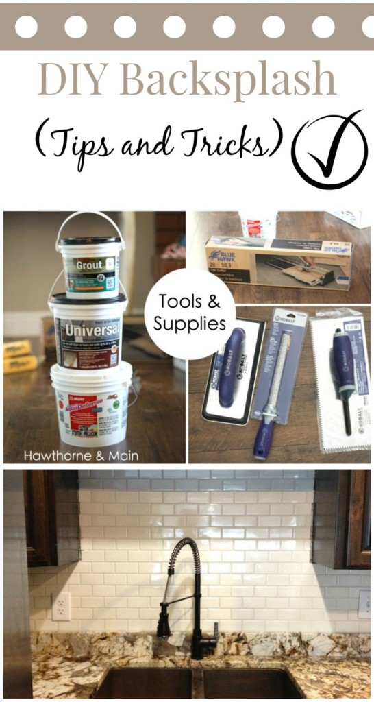 diy kitchen backsplash hawthorne and main