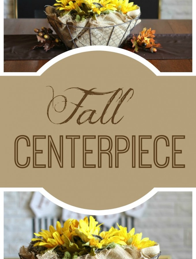 Fall Centerpiece and Give Thanks Series