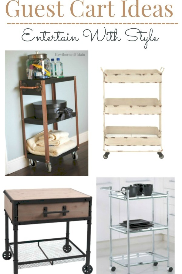 Guest Cart Ideas – Entertain with style PLUS A GIVEAWAY!!