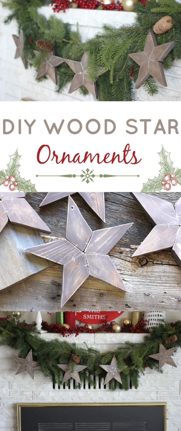Diy Wood Stars Hawthorne And Main