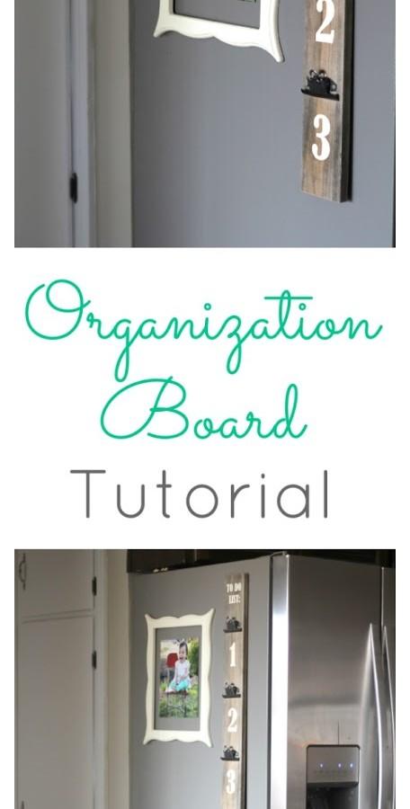 Organization Board Tutorial