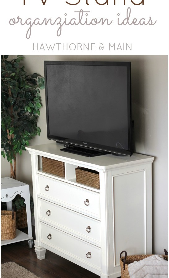 TV Console Table Gets more Storage!!