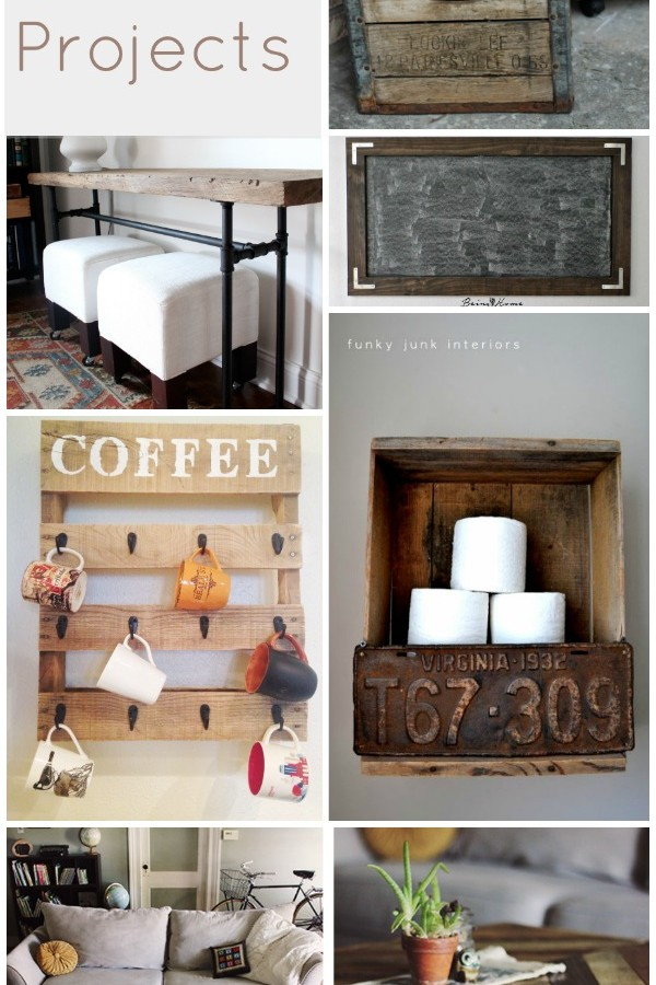 9 Rustic DIY Ideas