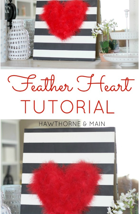 Feather Heart Tutorial