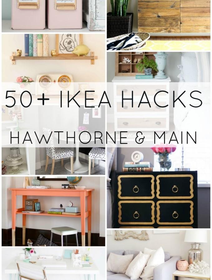 50 + IKEA Hacks