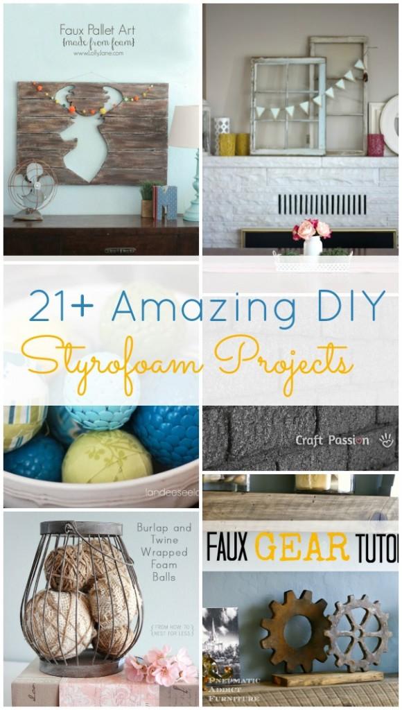 21 Amazing Diy Styrofoam Projects Hawthorne And Main