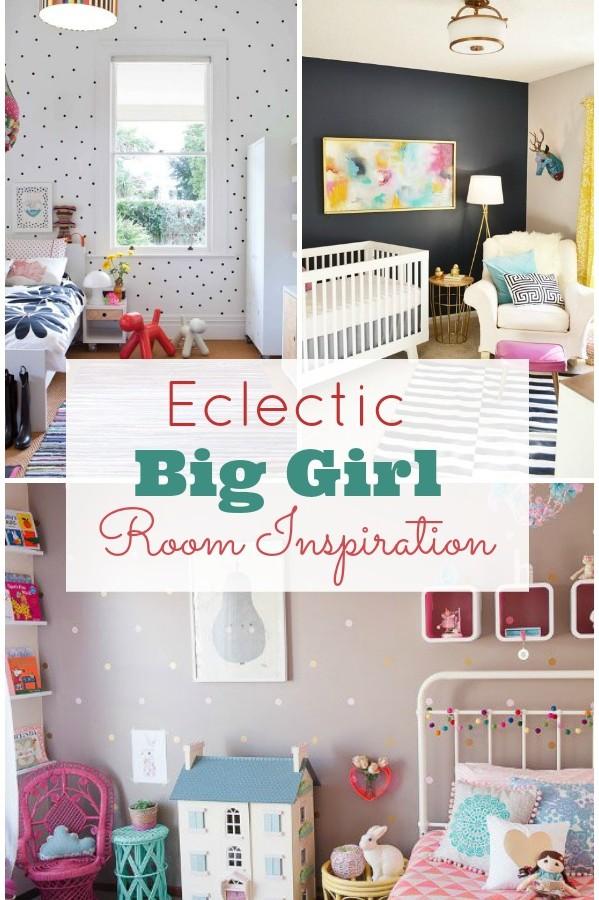 Eclectic Big Girl Room
