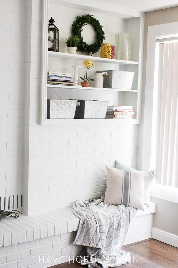 Spring Bookshelf