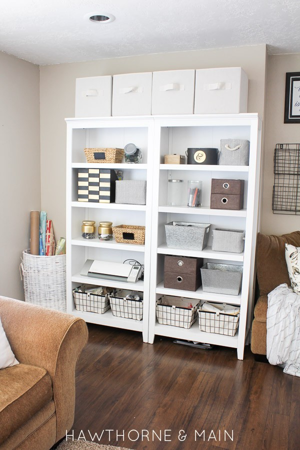 Craft Room Storage with Limited Space