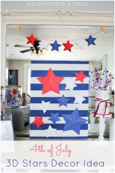 3D Stars Decor Idea!