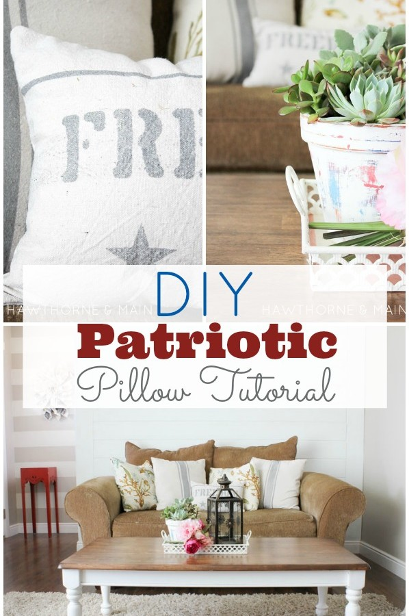 DIY Freedom Pillow