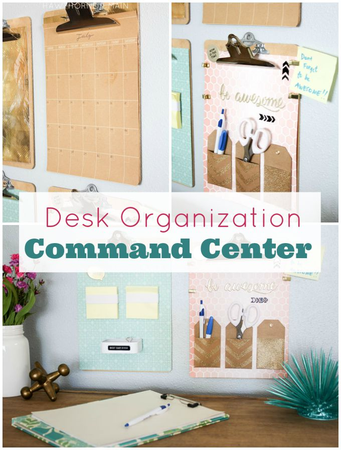 desk+command center+to+get+organized title