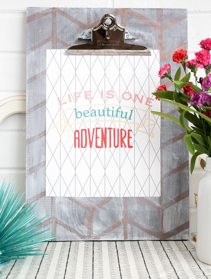 IVF Update 8-25-15 plus FREE Life is One Beautiful Adventure Printable