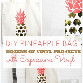 pineapple+heat+vinyl+transfer+onto+a+bag title