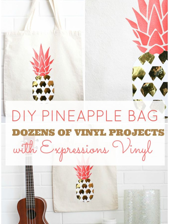 DIY Pineapple Bag
