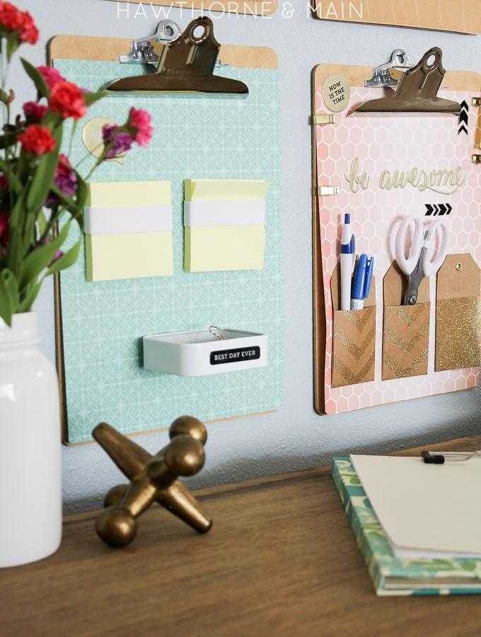 Simple Desk Organization