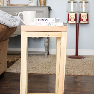 simple wood side table an easy first build 4