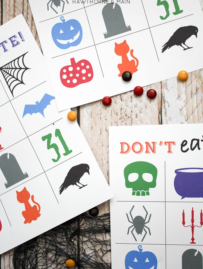 Halloween Style Don't Eat Pete FREE Printable