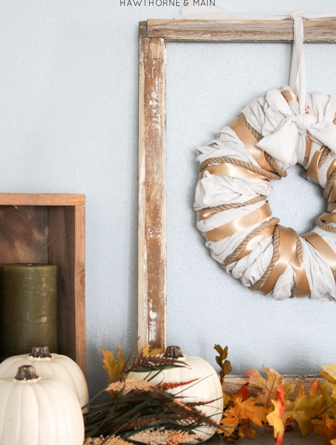 DIY Oversized Wreath
