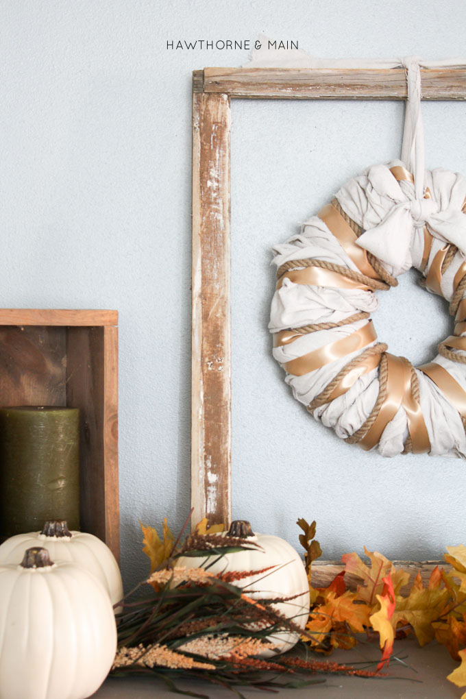 This DIY oversized wreath was inspired by a picture I saw.  It's cool how we can get inspiration from so many places.  Where have you been inspired lately?