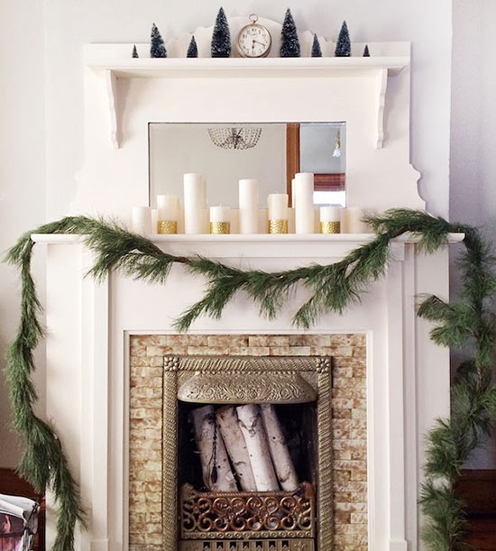 Chic Elegance Of Neutral Colors For The Living Room 10 Amazing Examples: 7 Amazing Christmas Decor Ideas