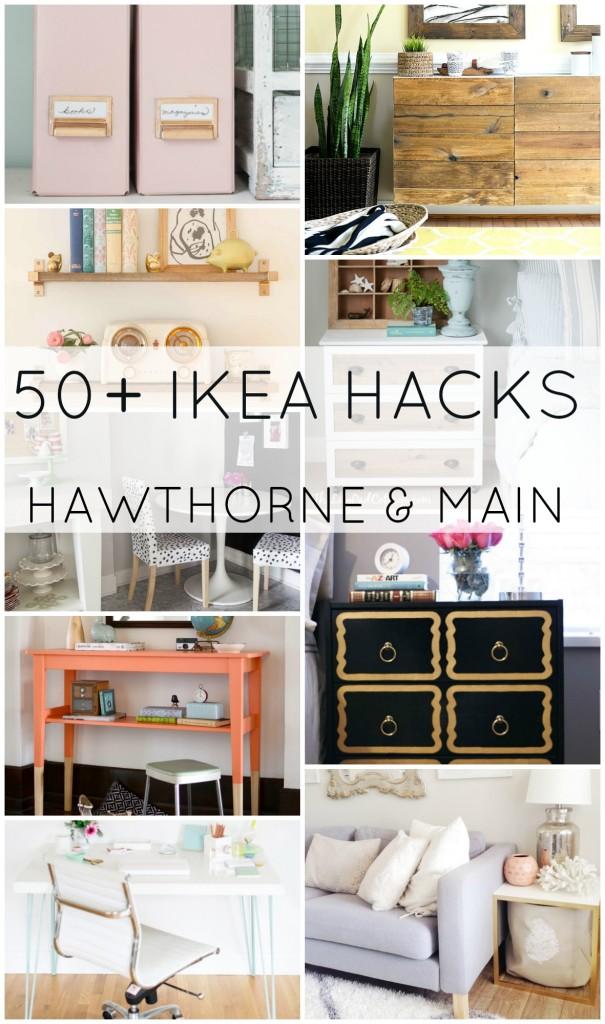 50+ IKEA HACKS