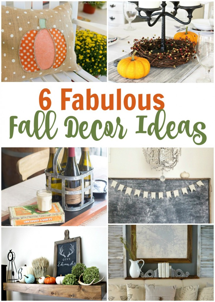 6 fabulous fall decor ideas