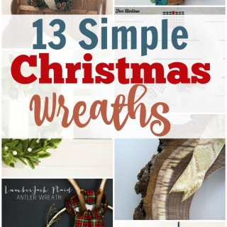 13 simple christams wreaths title