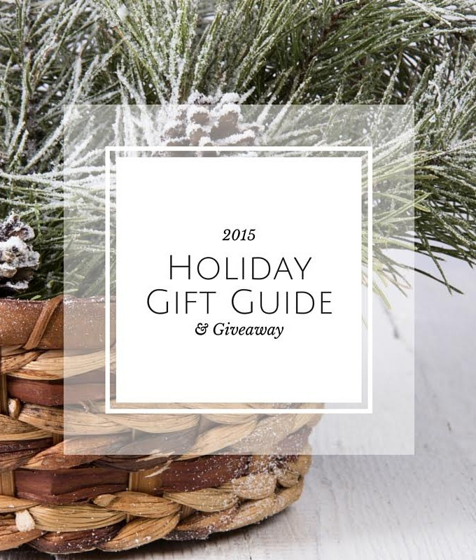 Holiday Gift Guide ( and a GIVEAWAY!)