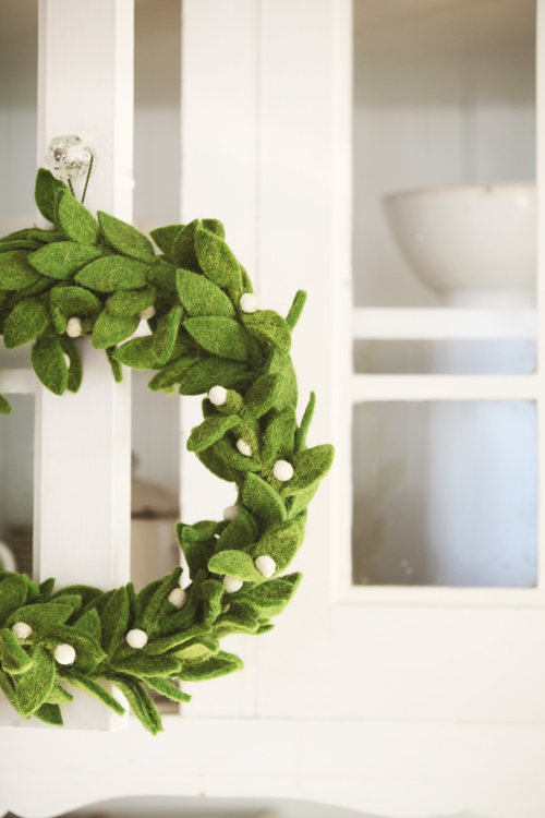 13 simple christmas wreaths
