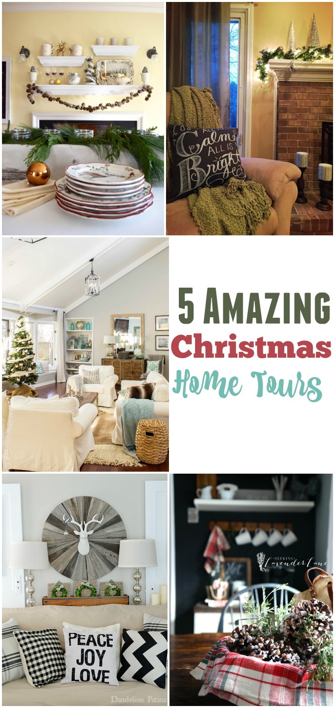5 amazing christmas home tours