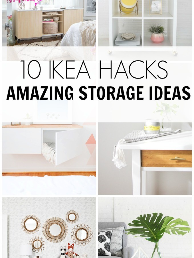 10 IKEA HACKS- Amazing Storage Ideas