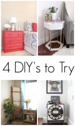 4 DIY's to Try- Brag Worthy Thursday 13