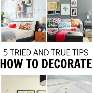 5 tips to decoarting