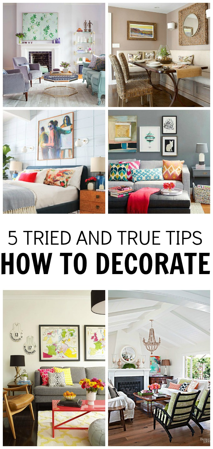 Decorating can be so daunting. Let me share with you some tips on how you can create an amazing space. 5 Tried and True Tips-How to Decorate
