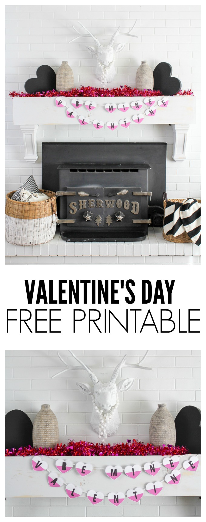 Be Mine Valentine. A super cute FREE Valentine's Day Printable!! Totally pinning!