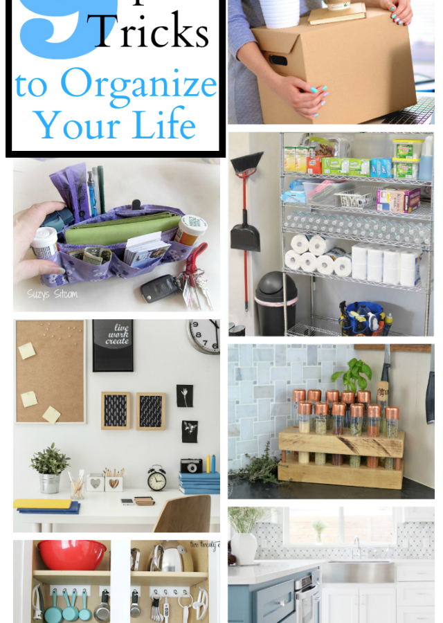 9 Tips and Tricks to Organize Your Life- Brag Worthy Thursday 12
