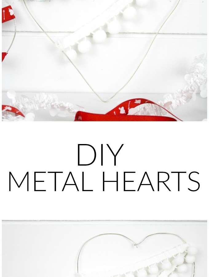 Ups and Downs and DIY Wire Hearts