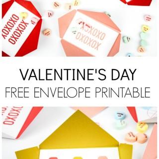 valentine envelope title