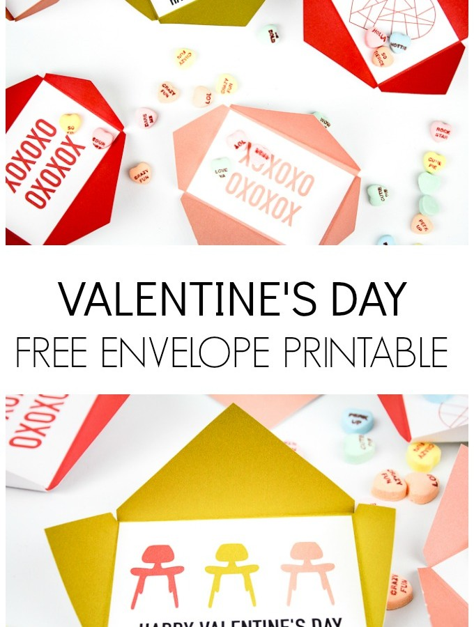 Valentine Envelopes FREE Printable