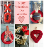 5 Valentine's Day Wreaths- Brag Worthy Thursday 15