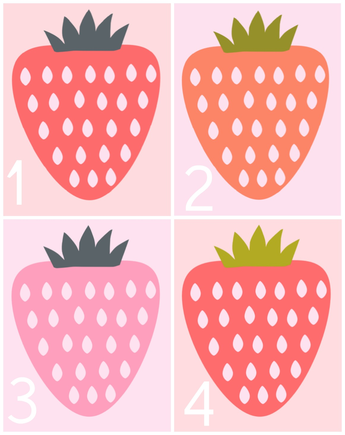 photo relating to Strawberry Printable named Free of charge Strawberry Printable Furthermore a Giveaway! HAWTHORNE AND Primary