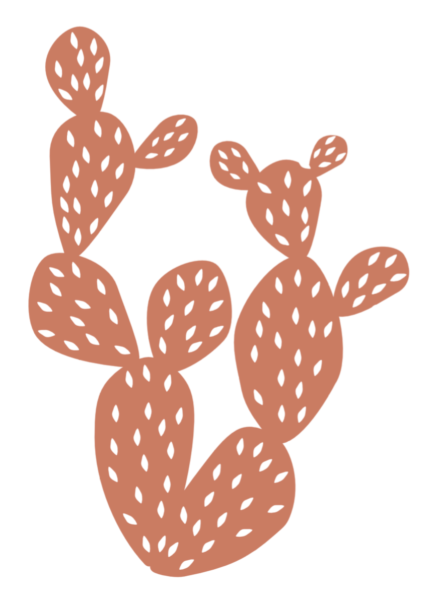 This is a graphic of Priceless Free Cactus Printable