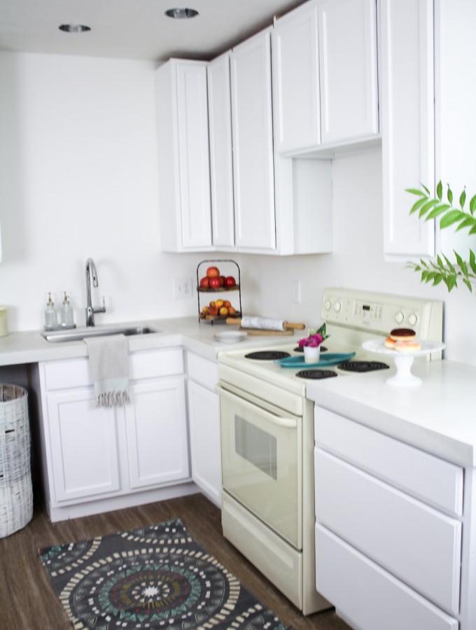 THE SUITE PECAN- DIY Kitchen Countertops